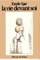 Couverture La vie devant soi Editions Mercure de France 1975