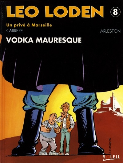 Couverture Léo Loden, tome 08 : Vodka mauresque