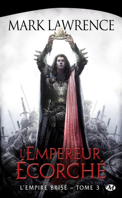 La voie du trône est acérée. Seuls les écorchés peuvent s'y engager. Le monde est fissuré et le temps s'y est enfui, nous amenant aux jours derniers, ceux qui nous ont attendus toute notre vie et menacent de nous filer entre les doigts. Ils m'appartiennent. Je me tiendrai devant les Cent, et ils m'écouteront. Je m'emparerai du trône, peu importe qui s'interposera, mort ou vif, et si je dois être le dernier empereur, alors je vous offrirai une fin mémorable. C'est ici que le sage se détourne. C'est ici que les saints hommes s'agenouillent et en appellent à Dieu. Voilà les derniers kilomètres, mes Frères. Ne comptez pas sur moi pour vous sauver. Si vous êtes malins, fuyez. Si l'âme vous en dit, priez. Si la bravoure est en vous, tenez bon. Mais ne me suivez pas. Sans quoi je vous briserai le cœur.