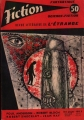 Couverture Fiction, tome 050 Editions Opta 1958