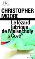 Couverture Le lézard lubrique de Melancholy Cove Editions Folio  (Policier) 2016