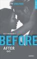 Couverture After, tome 7 : Before, partie 2 Editions de Noyelles (New romance) 2016