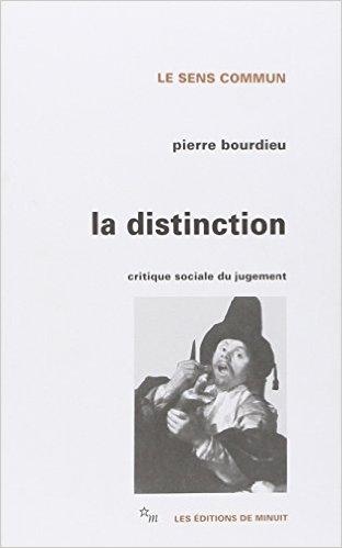 Couverture La Distinction - Critique sociale du jugement
