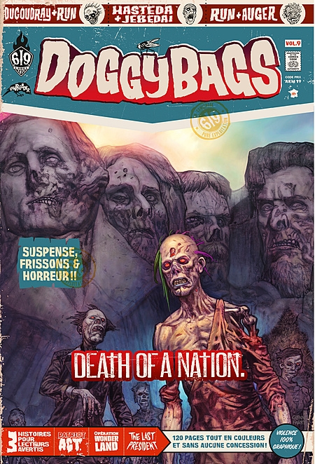Couverture DoggyBags, tome 09 : Death of a nation