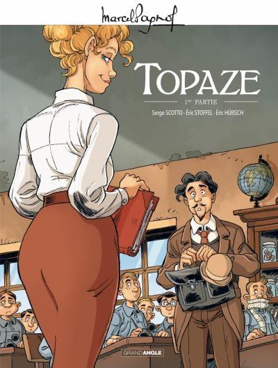 Couverture Topaze (BD)