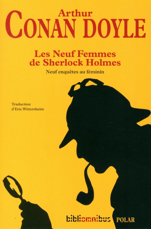 Couverture Les Neuf Femmes de Sherlock Holmes
