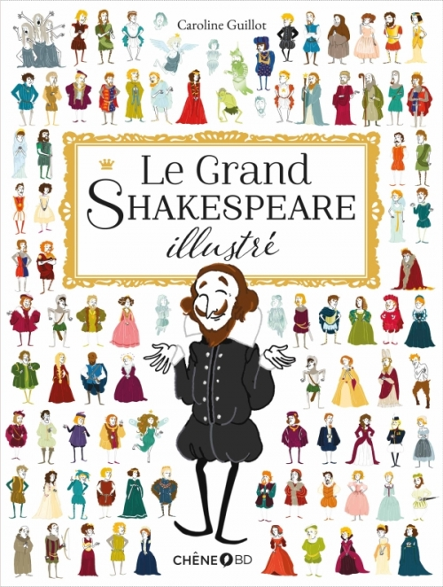 Couverture Le grand Shakespeare illustré