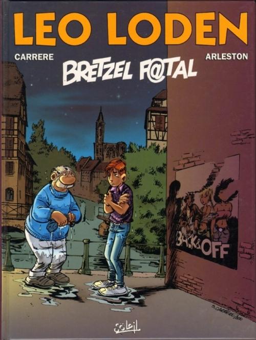 Couverture Léo Loden, tome 13 : Bretzel f@tal