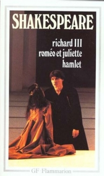 Couverture Richard III, Roméo et Juliette, Hamlet