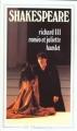 Couverture Richard III, Roméo et Juliette, Hamlet Editions Flammarion (GF) 1992