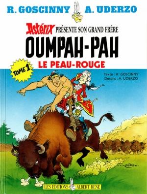 Couverture Oumpah-Pah, tome 1 : Oumpah-Pah le peau-rouge