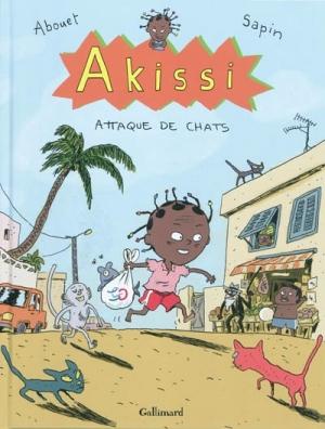 Couverture Akissi, tome 1 : Attaque de chats