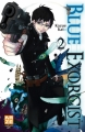 Couverture Blue Exorcist, tome 02 Editions Kazé (Shônen up !) 2010