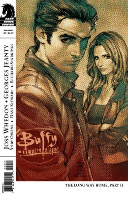 Couverture Buffy The Vampire Slayer, Season 8, book 02 : The Long Way Home, part 2