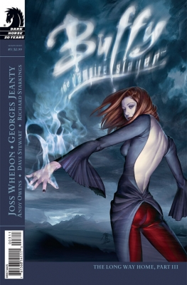 Couverture Buffy The Vampire Slayer, Season 8, book 03 : The Long Way Home, part 3