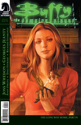 Couverture Buffy The Vampire Slayer, Season 8, book 04 : The Long Way Home, part 4