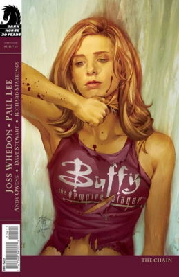 Couverture Buffy The Vampire Slayer, Season 8, book 05 : The Chain