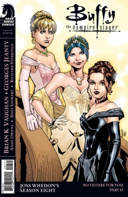 Couverture Buffy The Vampire Slayer, Season 8, book 07 : No Future For You, part 2