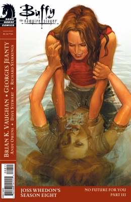 Couverture Buffy The Vampire Slayer, Season 8, book 08 : No Future For You, part 3