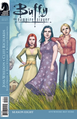 Couverture Buffy The Vampire Slayer, Season 8, book 10 : Anywhere But Here