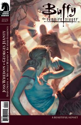 Couverture Buffy The Vampire Slayer, Season 8, book 11 : A Beautiful Sunset