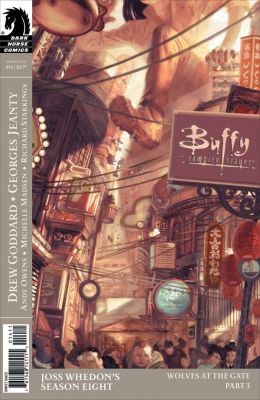 Couverture Buffy The Vampire Slayer, Season 8, book 14 : Wolves at the Gate, part 3