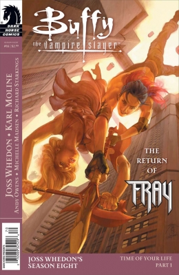 Couverture Buffy The Vampire Slayer, Season 8, book 16 : Time of Your Life, part 1