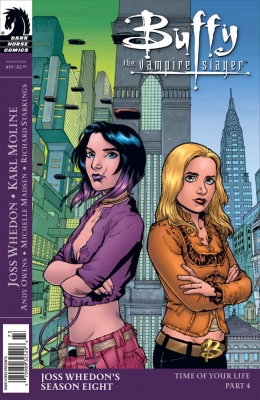 Couverture Buffy The Vampire Slayer, Season 8, book 19 : Time of Your Life, part 4