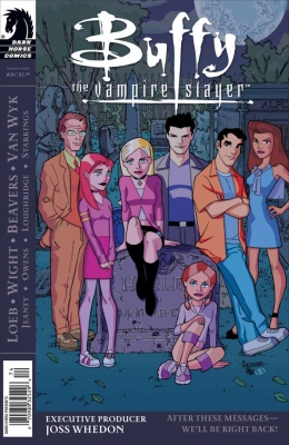 Couverture Buffy The Vampire Slayer, Season 8, book 20 : After These Messages... We'll be right back!