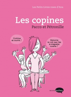 Couverture Les Petits Livres roses d'Ana, tome 2 : Les copines