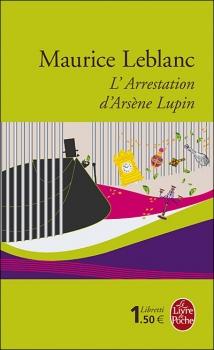 Couverture L'Arrestation d'Arsène Lupin