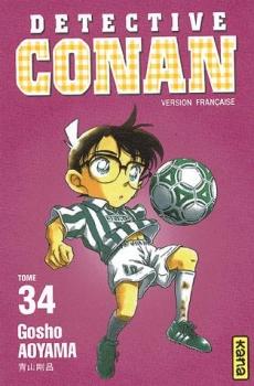 Couverture Détective Conan, tome 34