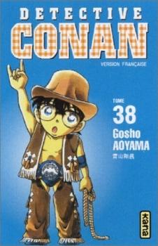 Couverture Détective Conan, tome 38
