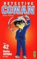 Couverture Détective Conan, tome 42 Editions Kana 2004