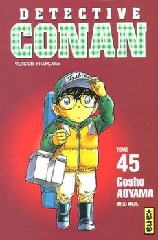 Couverture Détective Conan, tome 45