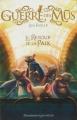 Couverture La guerre des Mūs, tome 3 : Le Retour de la Paix Editions Flammarion (Jeunesse) 2016