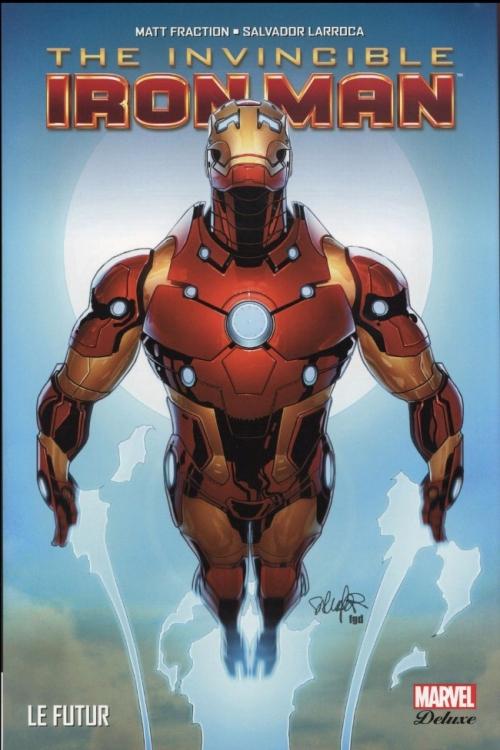 Couverture The Invincible Iron Man, tome 6 : Le futur