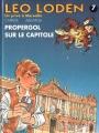 Couverture Léo Loden, tome 07 : Propergol sur le Capitole Editions Soleil 1995