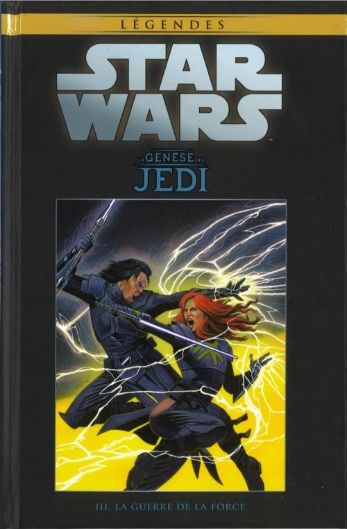 Couverture Star Wars (Légendes): La Genèse des Jedi : tome 3 : La Guerre de la Force