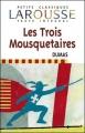 Couverture Les Trois Mousquetaires Editions Larousse (Petits classiques) 2003