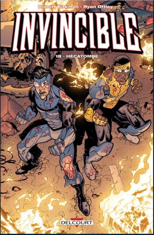 Couverture Invincible, tome 18 : Hécatombe