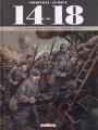 Couverture 14-18, tome 04 : La tranchée perdue (avril 1915) Editions Delcourt 2015