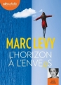 Couverture L'horizon à l'envers Editions Audiolib 2016