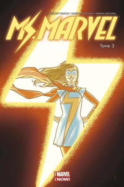 Couverture Miss Marvel (Marvel Now), tome 3 : Coup de foudre