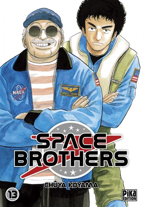 Couverture Space brothers, tome 13