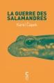 Couverture La Guerre des Salamandres Editions Cambourakis 2012
