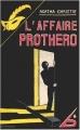Couverture L'Affaire Protheroe Editions du Masque 2008