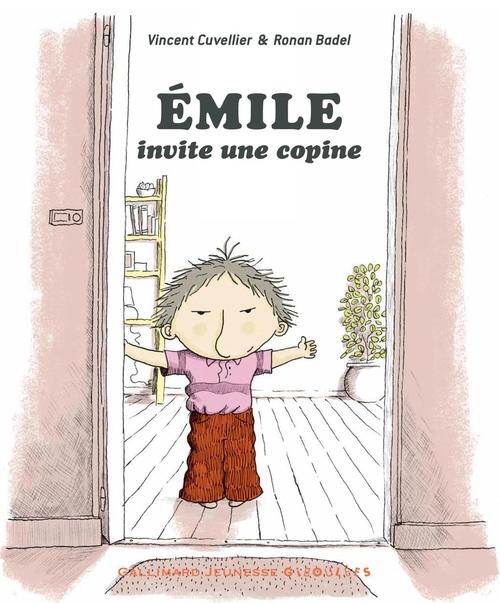 Couverture Emile invite une copine