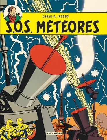 Couverture Blake et Mortimer, tome 08 : S.O.S. météores