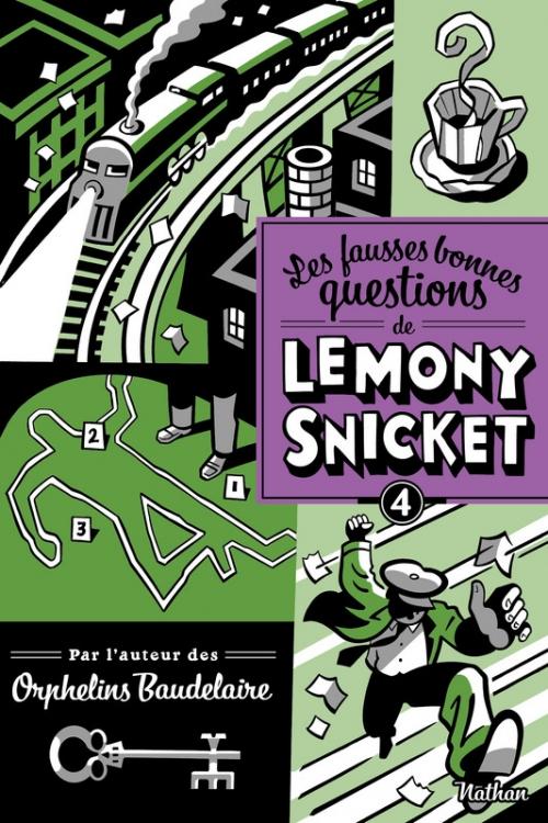 Couverture Les fausses bonnes questions de Lemony Snicket, tome 4 : Pourquoi cette nuit est-elle différente des autres nuits ?